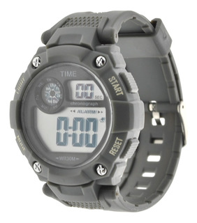 Reloj Hombre Digital Time. Deportivo Sumergible 3atm Tdig19