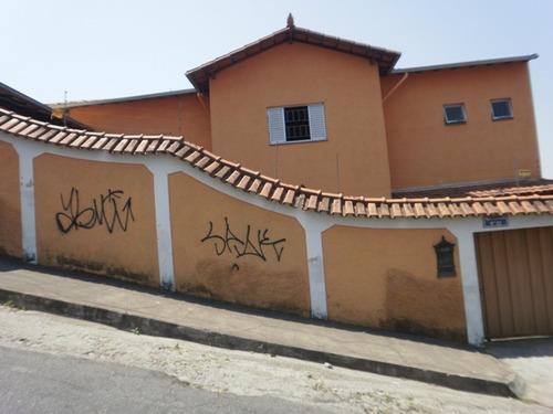 Duas Casas Independentes Em Lote De Esquina No Eldorado. - 643