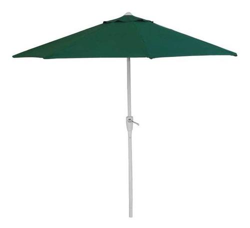 Sombrilla Parasol Jardin Grande Con Manivela 250 Cm
