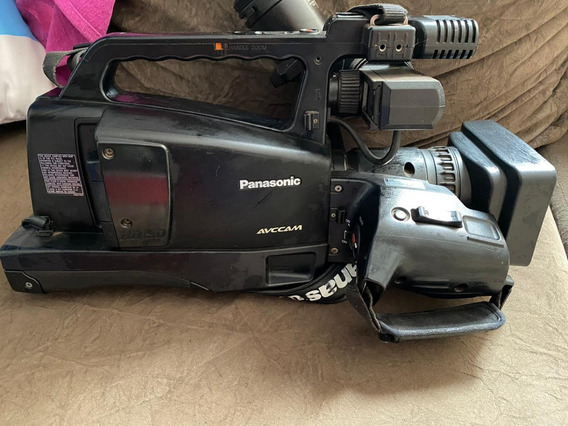 Filmadora Panasonic Ag Hmv 80 Com Tripé