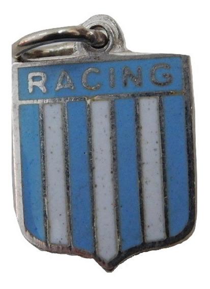 Escudo Plata 925 Racing Club Esmaltado