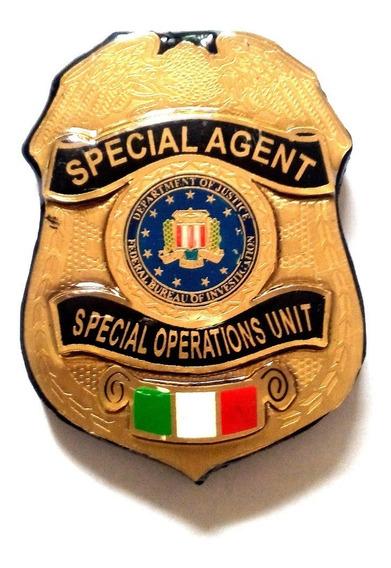 Placa Del Fbi Buro Federal De Investigacion Tipo Judicial