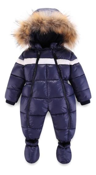 Lujoso Traje De Invierno Niño Niña Bebé. Para La Nieve -20°c