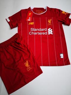 Jersey Liverpool Local 2020 #11 M Salah Uniforme Para Niño