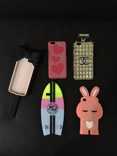 Forros Protectores De Goma Y Plastico iPhone 6, 6s 4s