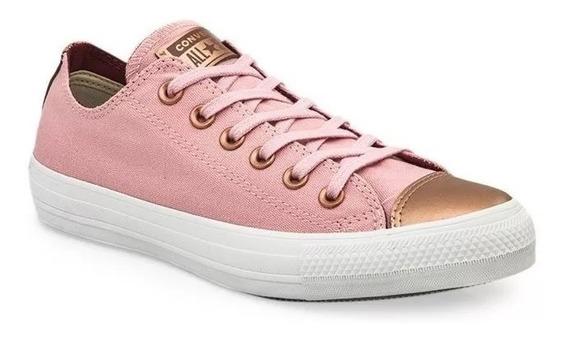 Converse Zapatillas Lifestyle Mujer Ctas Ox Rosa Fkr