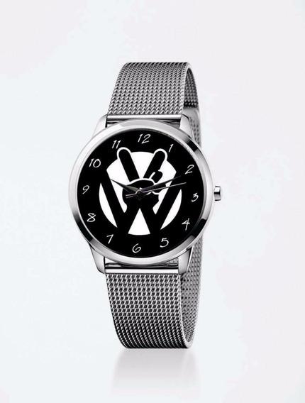 Relógio De Pulso Personalizado Feminino Vw Volkswagen 2018