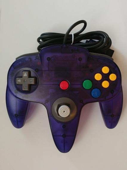 Controle Original Uva N-64 Com Analogico Tipo Game Cube!!