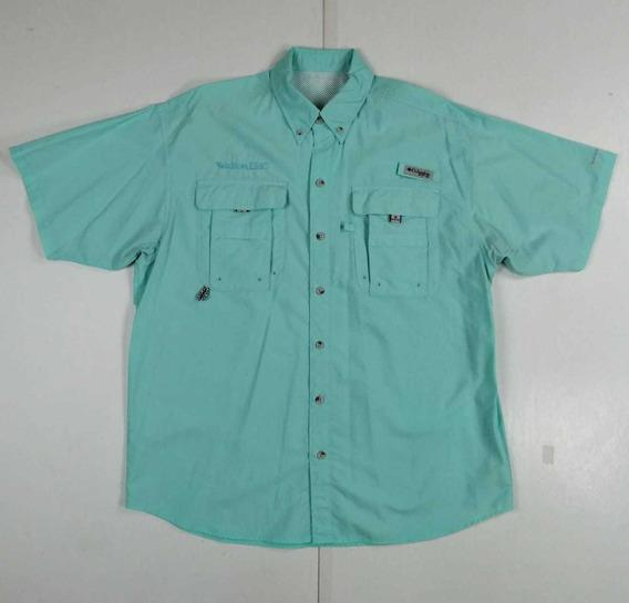 Camisa Columbia Pfg Manga Corta, Talla L