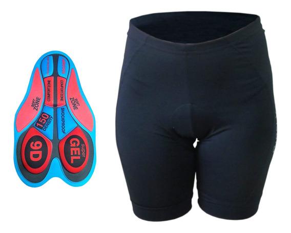 Calzas De Ciclismo Con Badana Importada 3d Gel Hombre Mujer