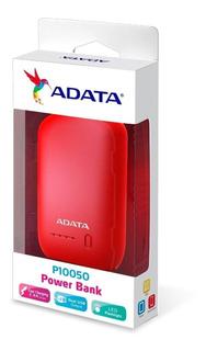 Power Bank Adata Ap10050v Capacidad 10050 Mah Roja