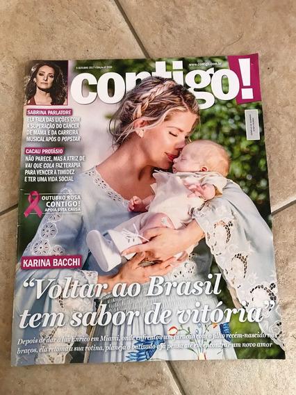 Revista Contigo 2194 Karina Bacchi Cacau Protásio