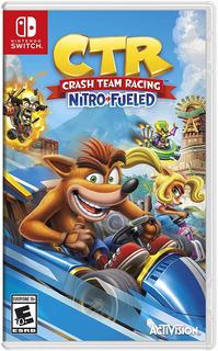 Crash Team Racing Nitro Fueled Switch Nuevo Tienda *_*