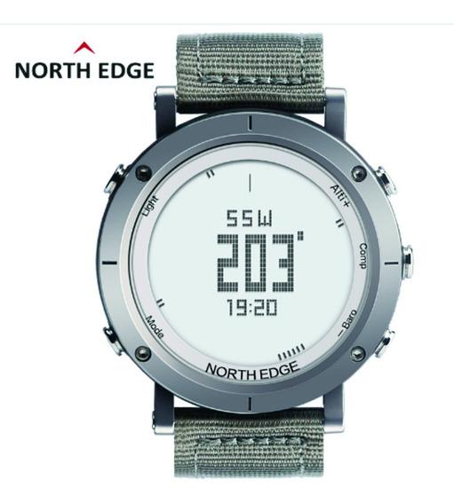 Relógio Masculino North Edge F. Cardíaca Altímetro Bússola