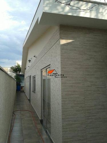 Casa Com 3 Dormitórios À Venda, 180 M² Por R$ 490.000,00 - Parque Dos Bandeirantes - Ribeirão Preto/sp - Ca1565