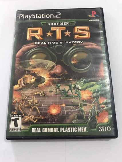 Rts Real Time Strategy Army Men Playstation 2 Jogo Original