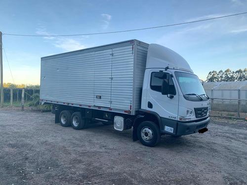 Mercedes Benz Accelo 1316 Baú Trucado Termico Truck 2018