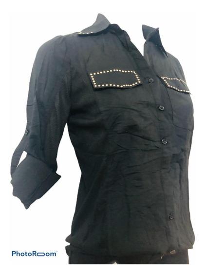 Camisa Con Tachas