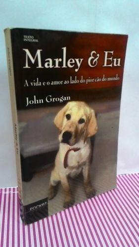 Livro Marley E Eu - Pocket Ouro Texto Integral - Foto Real