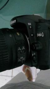 D80 Nikon Com Lente 18-55 (3.5 5.6g) Imperdível !