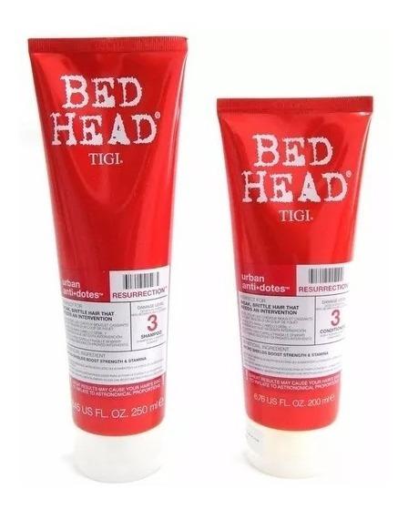 Tigi Bed Head Kit Resurrection Shampoo + Acondicionador