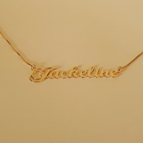Corrente Com Nome Personalizado - Jackeline