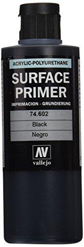Imagen 1 de 3 de Vallejo Black Primer Acrypoly 200ml Pintura