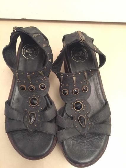 Sandalias Negras Clara Barcelo