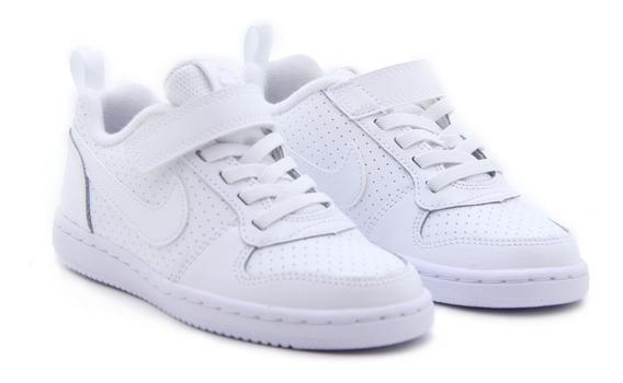 Tenis Nike Court Borough Low (niño) Originales