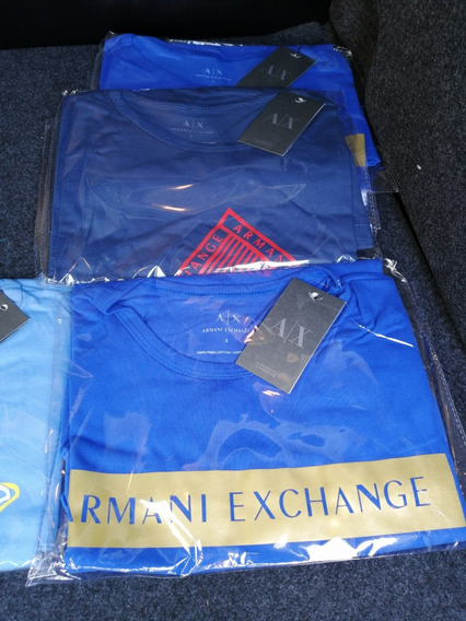 Bonitas Playeras Armani Exchange Para Hombre O Niño