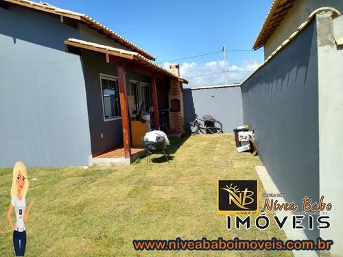 Imagem 1 de 6 de Casa Em Unamar Cabo Frio Casa Super Linda Em Unamar Cabo Frio Região Dos Lagos - Vcac 319 - 68850921