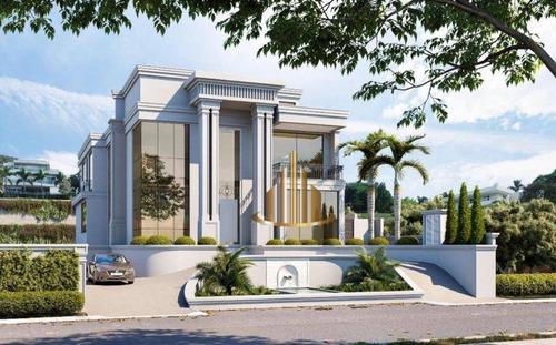 Casa Com 9 Suítes À Venda, 1332 M² Por R$ 28.000.000 - Tamboré 02 - Santana De Parnaíba/sp - Ca2833
