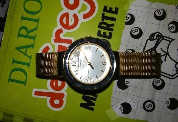 Reloj Timex Correa Dorada Para Dama