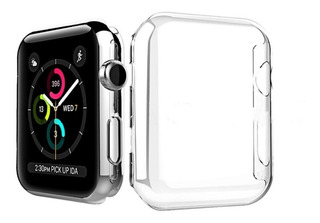Protector Completo Transparente Apple Watch 38 40 42 44 Mm