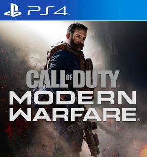 Call Of Duty Modern Warfare Ps4 Digital Original 1 Portugues