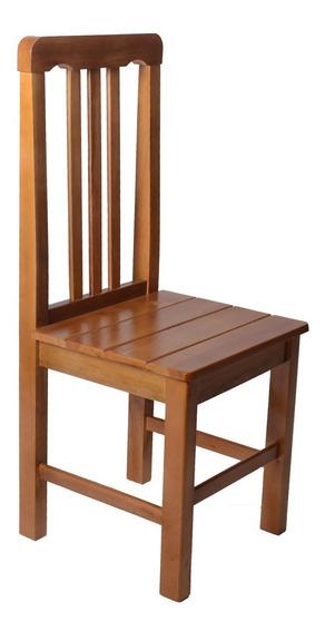 Cadeira Colonial Madeira Maciça Para Mesa De Jantar Cozinha