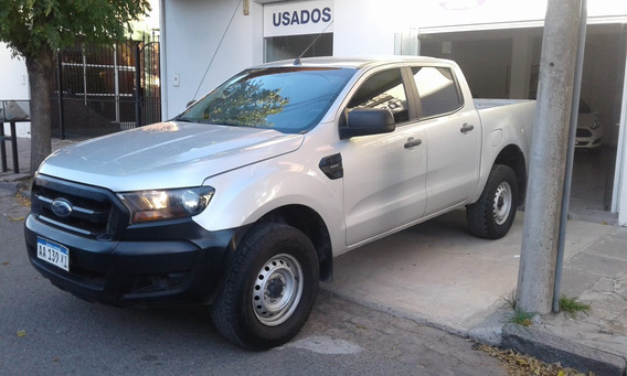 Ford Ranger 2.5 Nafta Cd Xl 4x2 Gris 2016 152.300 Km Roas