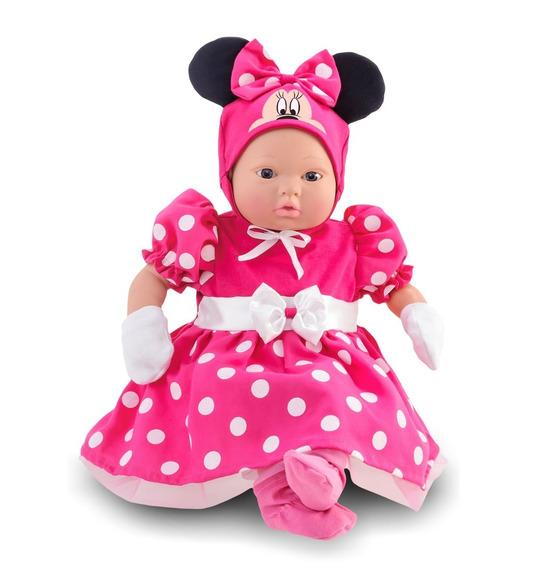 Boneca Minnie 48cm - Classic Dolls Recém Nascido - Roma