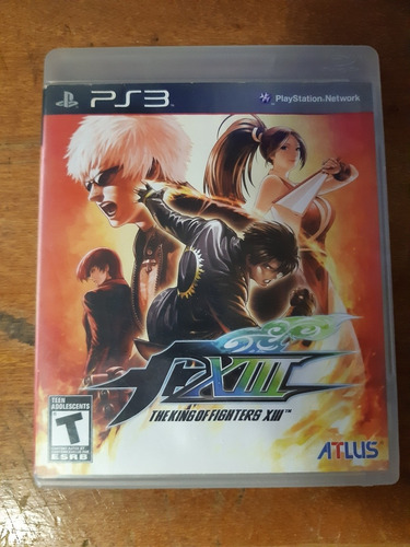 The King Of Fighters Xiii Ps3 Mídia Física Original Completo