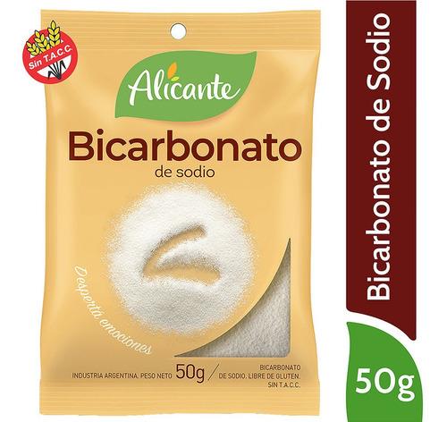 Alicante Bicarbonato De Sodio X 50 Gr