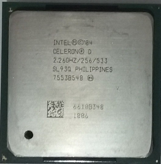 Processador Intel Celeron D 2.26ghz