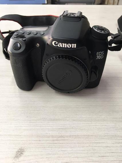 Câmera Canon Eos 70d Kit 18-55 Is Stm