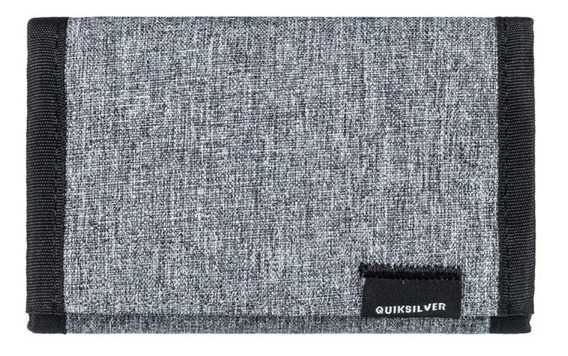 Quiksilver Billetera Hombre The Everydaily Gris - Negro