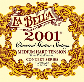 Encordoamento Violão La Bella 2001 Classical Medium Hard #