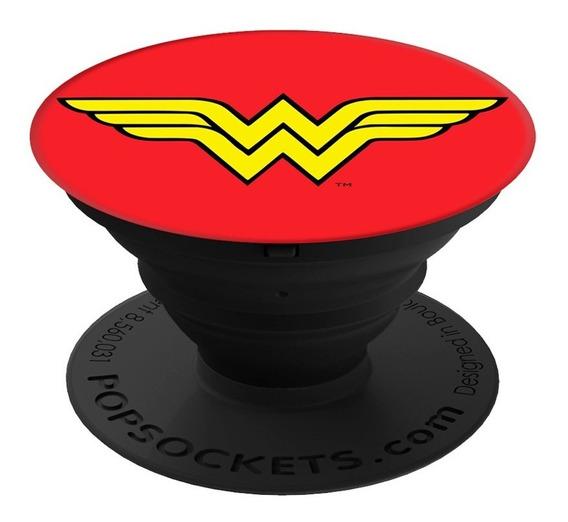 Popsockets Accesorio Celular Original Wonder Woman