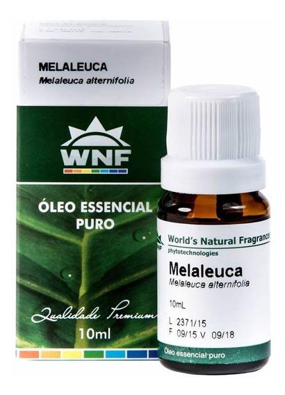 Óleo Essencial De Melaleuca Wnf (tea Tree)