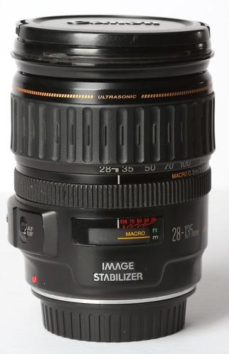 Lente Canon 28-135mm Ultrasonic  Macro Revisado Na Garantia