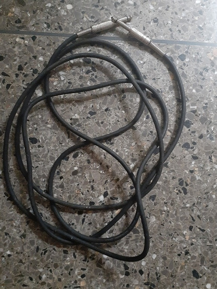 Cables Para Bajo O Guitarra Eléctrica Uno En 8verd Y 18vrd