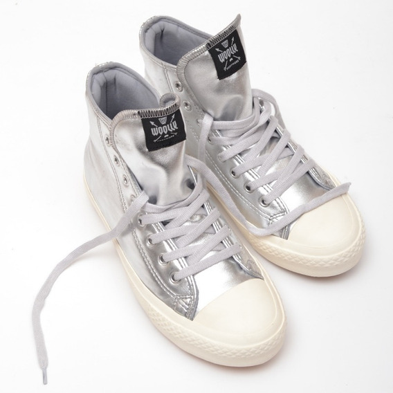 Zapatillas Botita Bota Mujer Sneakers Goma