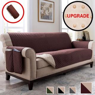 Funda Cubre Sofa Protector Reversible De Microfibra